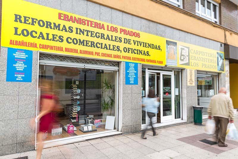 Ebanisteria los Prados, Reformas integrales de viviendas, locales comerciales y viviendas