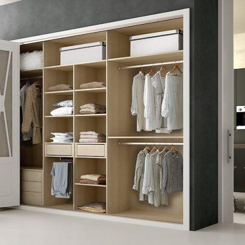 armario empotrado puerta plegable